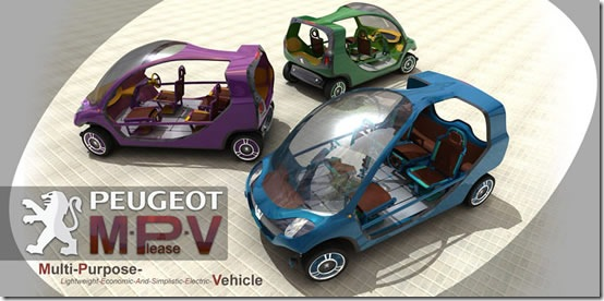 M-Please-V Concept Vehicle Features Nine Passenger Seating