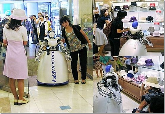 A Robot That Can Go Shopping For You
