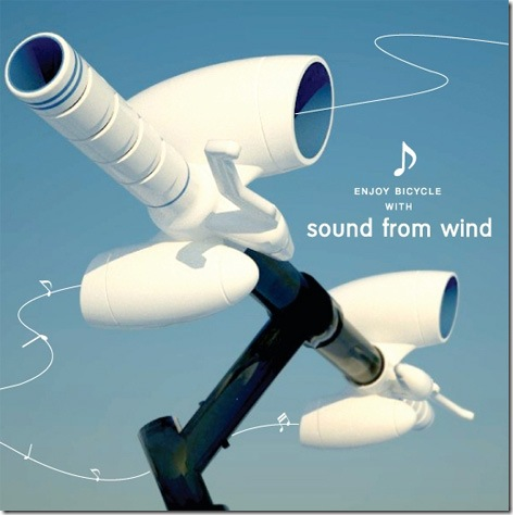 Sound From Wind Generates Music As You Ride