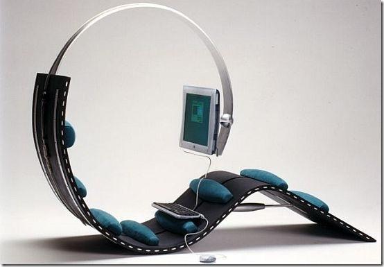 Surf Chair is Unique Computer Furniture