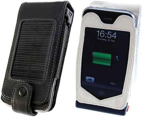 iPhone Solar Case Charges and Protects