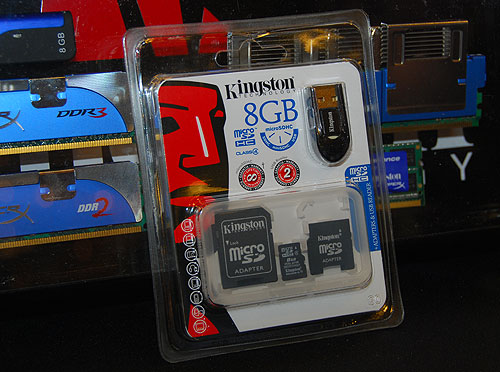Kingston offering SD card package that includes multiple adapters