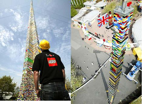World Tallest Lego Tower