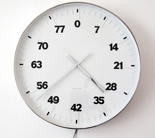 Life Clock counts years, not hours