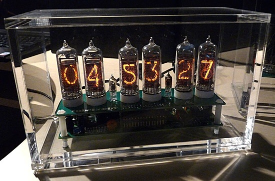 Retro Nixie Tube Clock with High Tech GPS Time Setting
