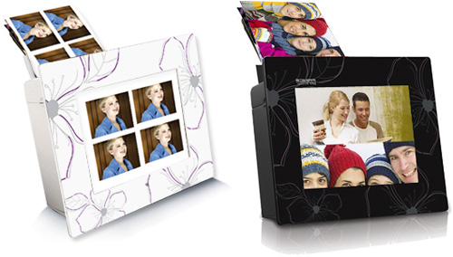 Prinic digital photo frames also print