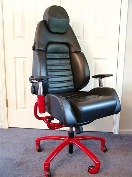 Racecar Chairs for the Office Chair Derby