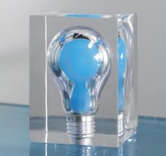 The Self Contained Solar Bulb Charges All Day,Glows At Night
