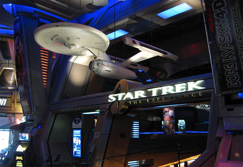 The Star Trek Experience has now boldly went