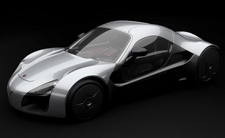 Venturi Volage is an impressive all electric sportscar