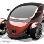 Proxima Vehicle Seeks to Merge Car and Motorcycle