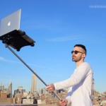 And Now, The Macbook Selfie Stick