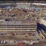 Apple Mothership Headquarters March 2016 Flyover