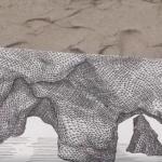 Artist Creates 3D Doodles Using Triangles