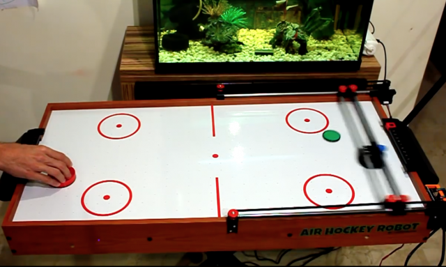 Robotic Air Hockey
