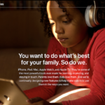 Apple Adds Family Page for Its Parental Tools